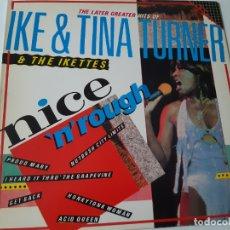 Discos de vinilo: IKE & TINA TURNER & THE IKETTES - THE LATER GREATER HITS - SPAIN LP 1984 - VINILO COMO NUEVO.. Lote 176735007