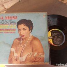 Discos de vinilo: LOLA FLORES-LP LA FABULOSA LOLA FLORES-USA. Lote 176737205