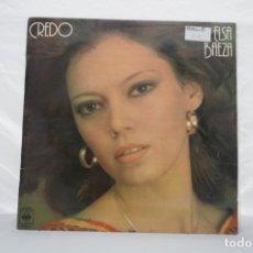 Discos de vinilo: LP - CREDO ELSA BAEZA / CBS / S-82443. Lote 176738062