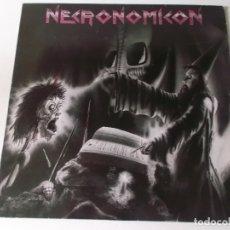 Discos de vinilo: NECRONOMICON. APOCALYPTIC NIGHTMARE, SCRATCHCORE LP GERMANY 1987. Lote 176740877