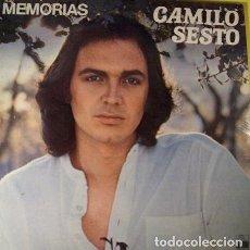 Discos de vinilo: CAMILO SESTO - MEMORIAS - LP ARIOLA SPAIN REEDICION 1983 - PORTADA DOBLE. Lote 176742847