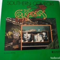 Discos de vinilo: THE CRUSADERS- SOUTHERN COMFORT - SPAIN 2 LP 1976 - VINILOS COMO NUEVOS.. Lote 176743233