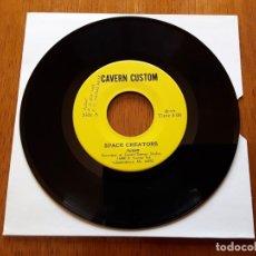 Discos de vinilo: FLIGHT 1975 MUY RARO USA PSYCHEDELIC ROCK SINGLE - PÓSTER + INSERT. Lote 176743854
