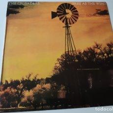 Discos de vinilo: THE CRUSADERS- FREE AS THE WIND - SPAIN LP 1977 - EXC. ESTADO.. Lote 176743864