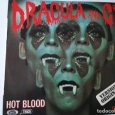 Discos de vinilo: DRACULA & CO - HOT BLOOD - SPAIN LP 1977 - VINILO COMO NUEVO.. Lote 176745072