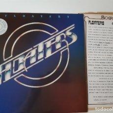 Discos de vinilo: THE FLOATERS- - SPAIN LP 1977 + HOJAS PROMO RADIO - VINILO COMO NUEVO.. Lote 176745920