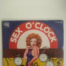 Discos de vinilo: SEX OCLOCK: HELLO/DON,T STOP IT.1978. Lote 219182795