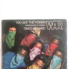 Discos de vinilo: WAR: YOU GOT THE POWER. 1982. Lote 176750118