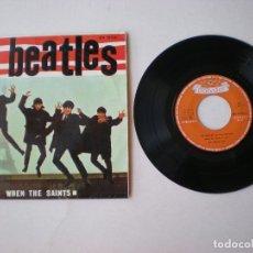 Discos de vinilo: LOS BEATLES -CON TONY SHERIDAN- EP WHEN THE SAINTS + 3 - POLYDOR EPH50926 - ESPAÑA AÑO 1964. Lote 176750830