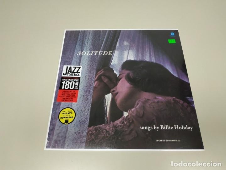 JJ9- SOLITUDE SONGS BILLIE HOLIDAY VIN LP & FREE MP3 LIMIT EU 2015 NUEVO PRECINT PRECIO LIQUIDACION (Música - Discos - LP Vinilo - Otros estilos)