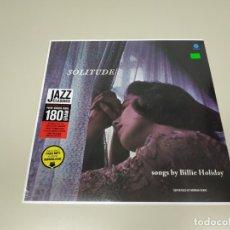 Disques de vinyle: JJ9- SOLITUDE SONGS BILLIE HOLIDAY VIN LP & FREE MP3 LIMIT EU 2015 NUEVO PRECINT PRECIO LIQUIDACION. Lote 176755848