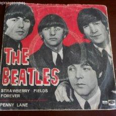 Discos de vinilo: THE BEATLES - STRAWBERRY FIELDS Y PENNY LANE - SINGLE 1967. Lote 176756028