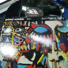 Discos de vinilo: PRIMAL SCREAM MAXI DON'T FIGHT IT, FEEL IT FRANCIA 1991. Lote 176764450