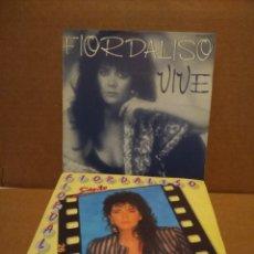 Discos de vinilo: LOTE 2 SINGLES : FIORDALISO : VIVE + SIENTO . Lote 176764625