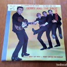 Discos de vinilo: GERRY AND THE PACEMAKERS 1965 MERSEBEAT ORIGINAL EP ESPAÑOL. Lote 176768490