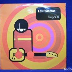Discos de vinilo: LOS PLANETAS - SUPER 8 - LP PRIMERA EDICION RCA 1994. Lote 176775583