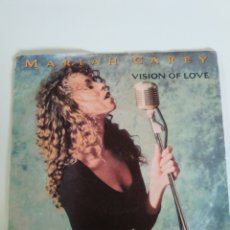 Discos de vinilo: MARIAH CAREY VISION OF LOVE / SENT FROM UP ABOVE ( 1990 CBS UK ). Lote 176785862