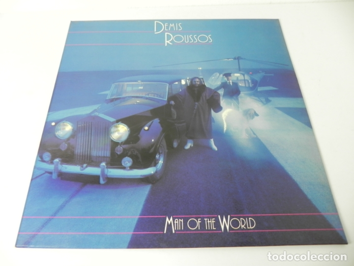 Discos de vinilo: LP DEMIS ROUSSOS (MAN OF THE WORLD) MERCURY-1980 (EXCELENTE ESTADO) - Foto 1 - 176797235