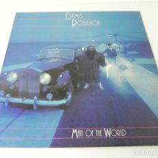 Discos de vinilo: LP DEMIS ROUSSOS (MAN OF THE WORLD) MERCURY-1980 (EXCELENTE ESTADO). Lote 176797235