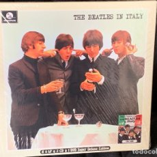Discos de vinilo: THE BEATLES - THE BEATLES IN ITALY - 4 LP + 2 CD + 1 DVD, ED. LIMITADA. Lote 176807565