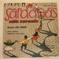 Discos de vinilo: SARDANAS - COBLA MALAVELLA - IBEROFON 1960 - SINGLE - PL. Lote 176809845