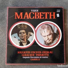Discos de vinilo: MACBETH. VERDI. DECCA. 3LP. 1974. Lote 176812723