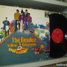 Discos de vinilo: THE BEATLES LP YELLOW SUBMARINE SPANISH EARLY PRESSING RED LABEL ODEON SPAIN EX+. Lote 176815959