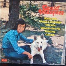 Discos de vinilo: DANIEL VELAZQUEZ //BONITA NIÑA //1975 (VG VG). LP. Lote 176816233