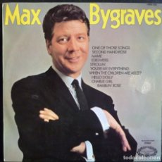 Discos de vinilo: MAX BYGRAVES // ONE OF THUSE SONGSY OTRAS// MADE IN ENGLAND//(VG VG).LP. Lote 176818694
