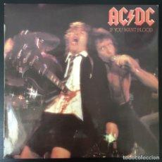 Discos de vinilo: AC/DC – IF YOU WANT BLOOD YOU'VE GOT IT LP 1979 SPAIN VINILO VG+ CARPETA VG+. Lote 176818995