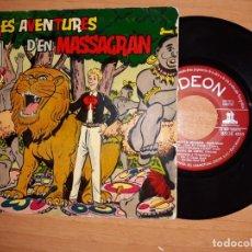 Discos de vinilo: LES AVENTURES D,EN MASSAGRAN.. Lote 176836503