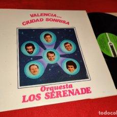 Discos de vinilo: ORQUESTA LOS SERENADE VALENCIA...CIUDAD DE SONRISAS LP 1982 DIAPASON. Lote 176837282