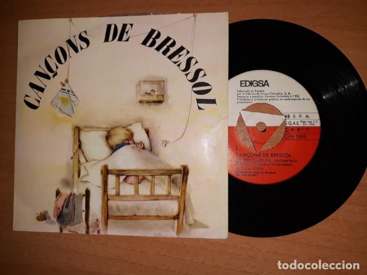 CANCONS DE BRESSOL. (Música - Discos de Vinilo - EPs - Música Infantil)