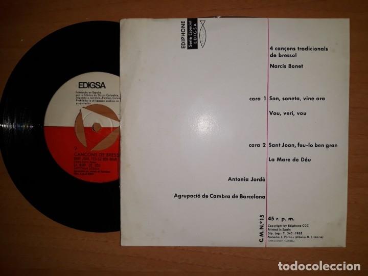 Discos de vinilo: Cancons de bressol. - Foto 2 - 176837600