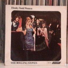 Discos de vinilo: ROLLING STONES - HONKY TONK WOMEN. Lote 176842260