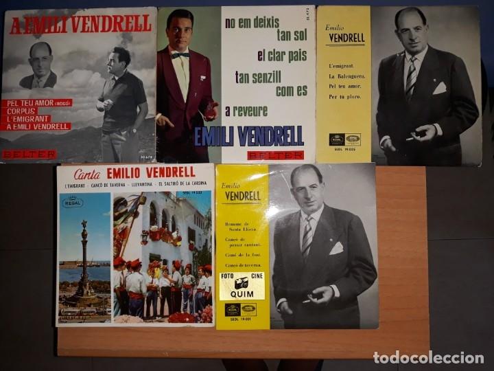 EMILI VENDRELL.PARE I FILL.LOTE 5 EPS. (Música - Discos de Vinilo - EPs - Solistas Españoles de los 50 y 60)