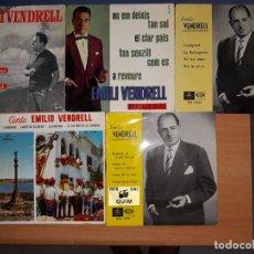 Discos de vinilo: EMILI VENDRELL.PARE I FILL.LOTE 5 EPS.. Lote 176842360