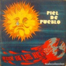 Discos de vinilo: PIEL DEL PUEBLO - ROCK DE LAS HERIDAS - 2012 BEAT GENERATION RECORDS 180 GRAM VINYL REISSUE. Lote 176842495
