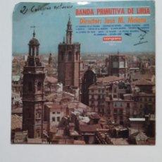 Discos de vinilo: BANDA PRIMITIVA DE LIRIA - JOSE MARIA MALATO - LP. TDKDA68. Lote 176845435