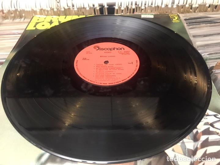 Discos de vinilo: Bruno Lomas lp Disco de vinilo Original firmado por el Cantante Discophon - Foto 5 - 176847349