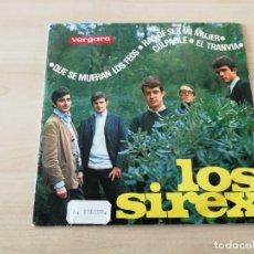 Discos de vinilo: DISCO VINILO MAXI SINGLE LOS SIREX. Lote 176848132