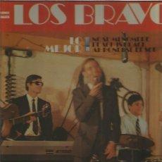Discos de vinilo: LOS BRAVOS LO MEJOR. Lote 176851797