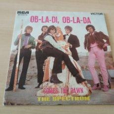 Discos de vinilo: DISCO VINILO MAXI SINGLE THE SPECTRUM OB-LA-DI OB-LA-DA. Lote 176853122