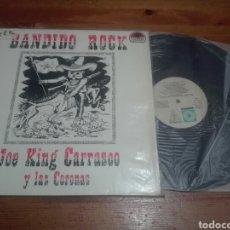 Discos de vinilo: VINILO JOE KING CARRASCO Y LAS CORONAS. BANDIDO ROCK.. Lote 176853687
