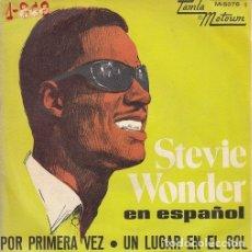 Discos de vinilo: STEVIE WONDER CANTA EN ESPAÑOL POR PRIMERA VEZ - SINGLE ESPAÑOL DE VINILO TAMLA MOTOWN - 5078 #. Lote 176858495