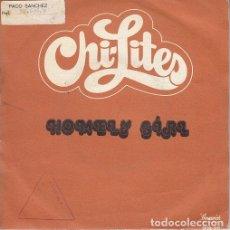 Discos de vinilo: CHI LITES - HOMELY GIRL - SINGLE ESPAÑOL DE VINILO #. Lote 176859144