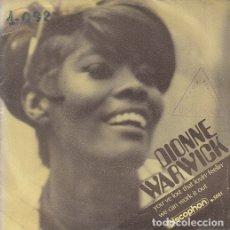 Discos de vinilo: DIONNE WARWICK - YOU'VE LOST THAT LOVIN' FEELIN' - SINGLE ESPAÑOL DE VINILO #. Lote 176859264