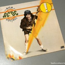 Discos de vinilo: NUMULITE LP043 ACDC AC/DC HIGH VOLTAGE. Lote 176861149