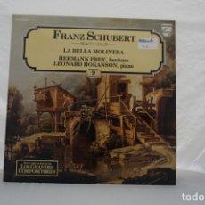 Discos de vinilo: LP - GRANDES COMPOSITORES 9 / FRANZ SCHUBERT / LA BELLA MOLINERA / PHILIPS. Lote 176889858