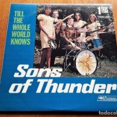 Discos de vinilo: SONS OF THUNDER 1969 USA CHRISTIAN GARAGE FOLK ROCK ORIGINAL LP. Lote 176892290